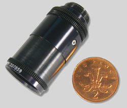 Model 207 Motorised Miniature Zoom Lens