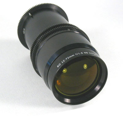 Zoom Lens for Environments Subject to Radiation