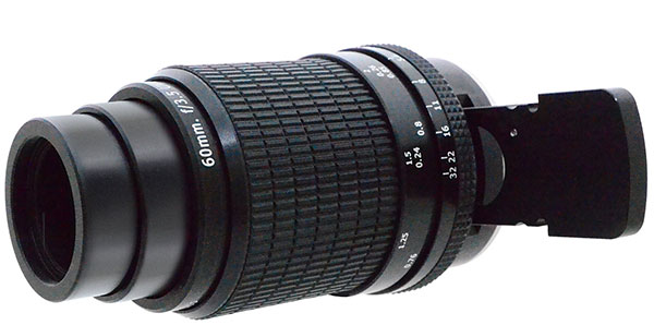 60mm f/3.5 UV Forensic Lens