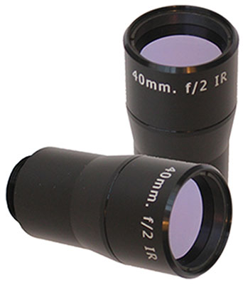 307-000   40 mm f/2 Infrared Objective Lens