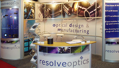 Resolve Optics Exhibition Stand