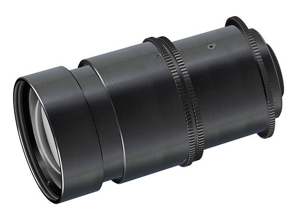 Non-Browning Zoom Lens for nuclear industry