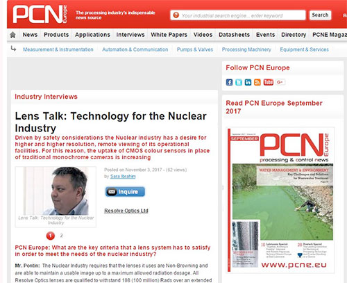Technology for the Nuclear Industry