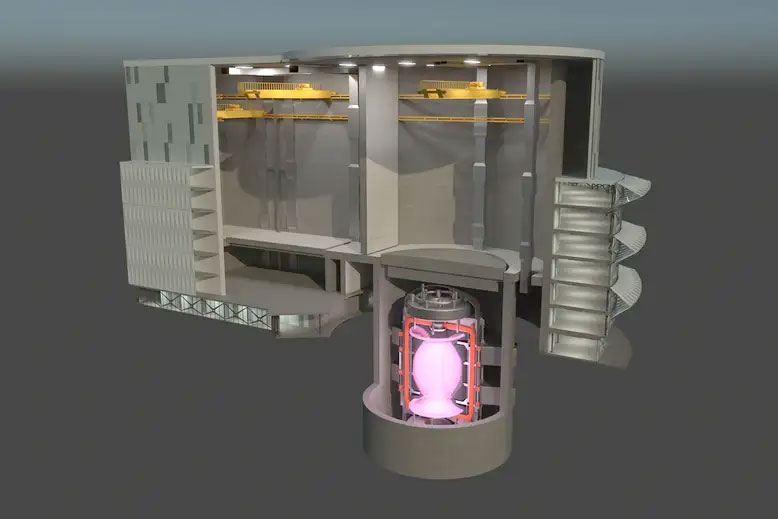 Nuclear Fusion Power Station